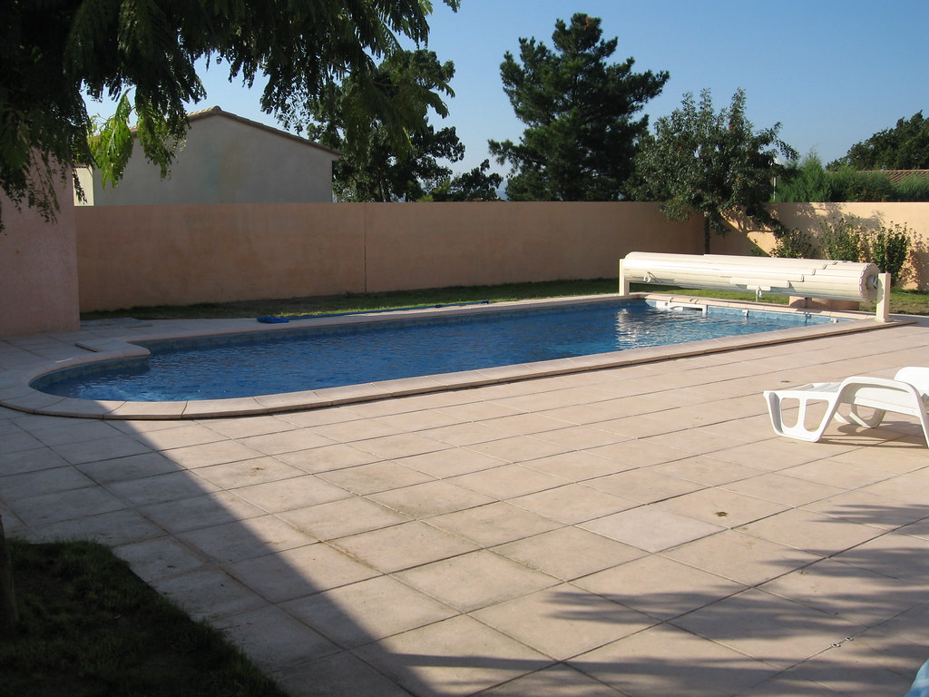 swimming pool and terrace la french place flickr. Black Bedroom Furniture Sets. Home Design Ideas