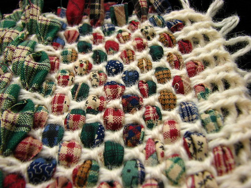 Rag Rug Weaving On Knitting Machine Flickr Photo Sharing