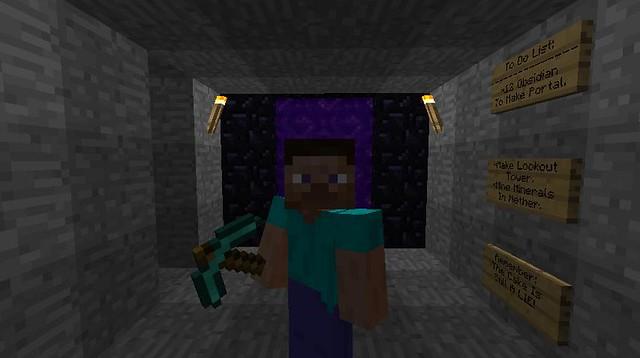 New Nether Portals Minecraft