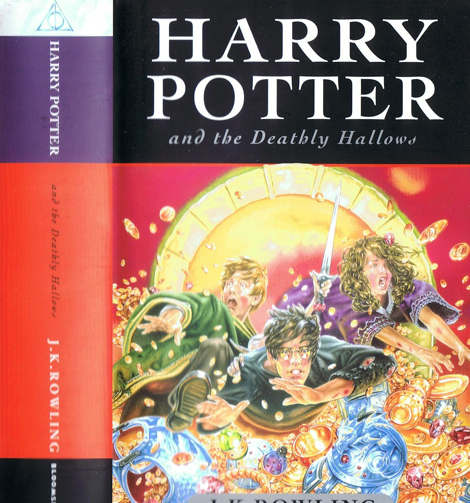 Harry Potter Book Covers Uk Vs Us ~ Harry potter and the deathly hallows uk version this is