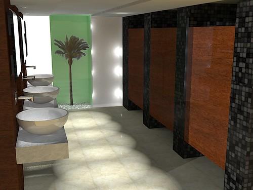 Banheiro Restaurante  Flickr  Photo Sharing! -> Decoracao De Banheiros De Restaurantes