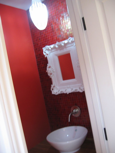 Red Paint Room Design