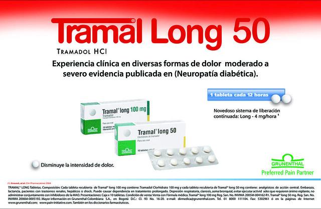 Tramal long precio