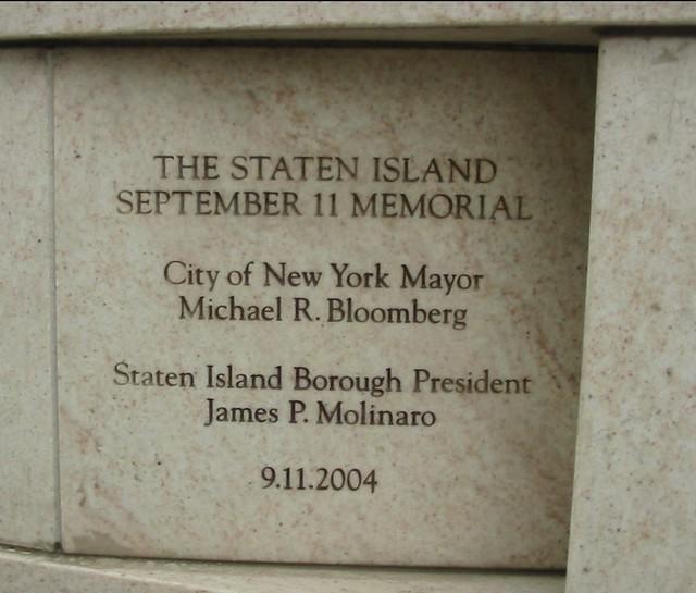 9 11 Memorial Staten Island Ny 2007 Peterkreder Flickr