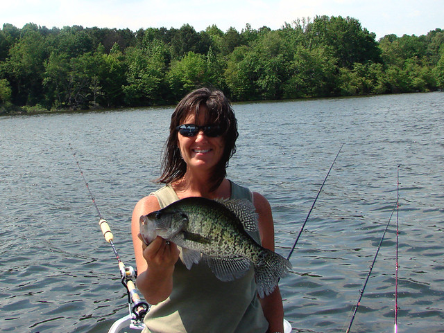 Crappie time crappie fishing on ky lake is a blast this for Kentucky lake crappie fishing report