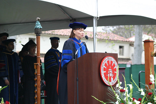 Terry Ballman Speaking at Commencement | by California State University Channel Islands