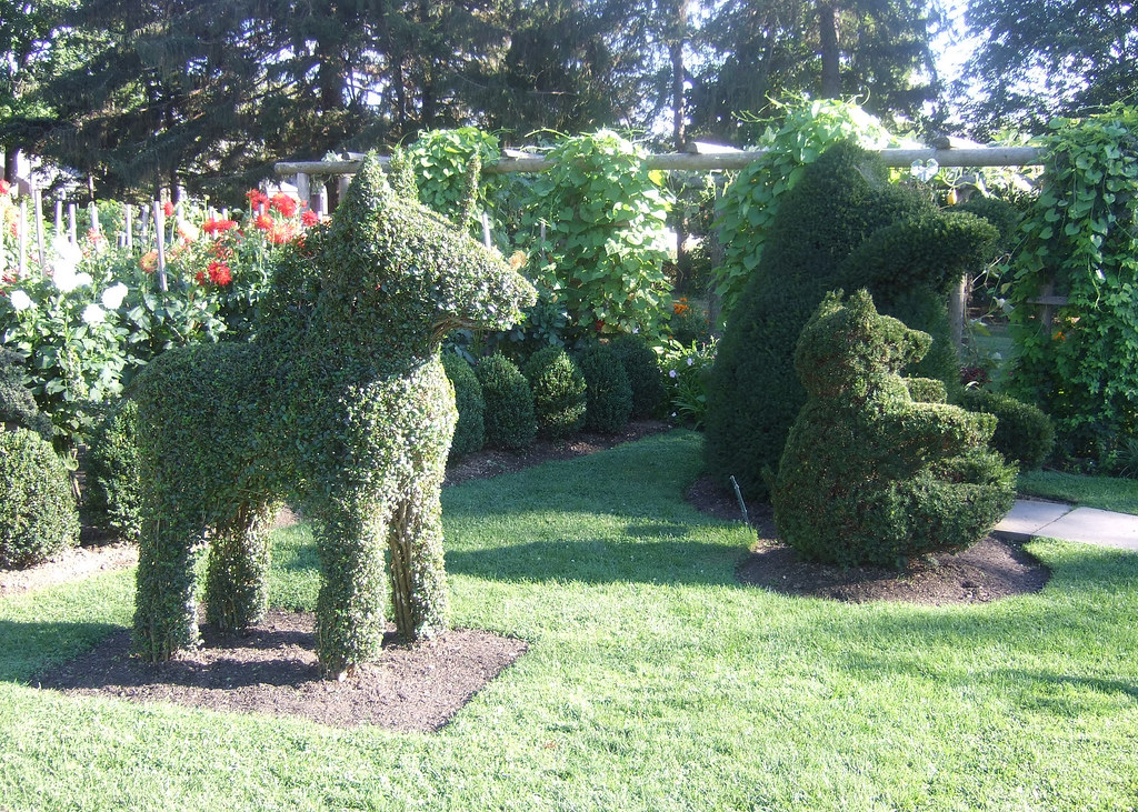 Green Animals Topiary Garden In Portsmouth Rhode Island