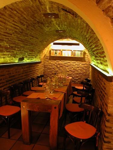 rio tajo toledo basement restaurant q r flickr