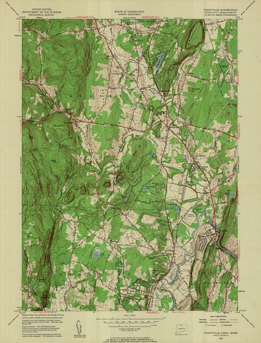 Tariffville Quadrangle 1956 - USGS Topographic Map 1:24,000 | by uconnlibrariesmagic