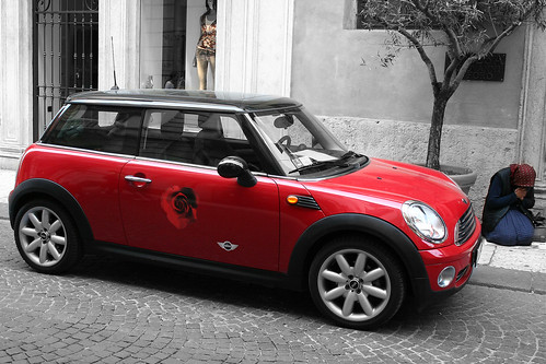 mini auto mini vita mini car mini life flickr. Black Bedroom Furniture Sets. Home Design Ideas