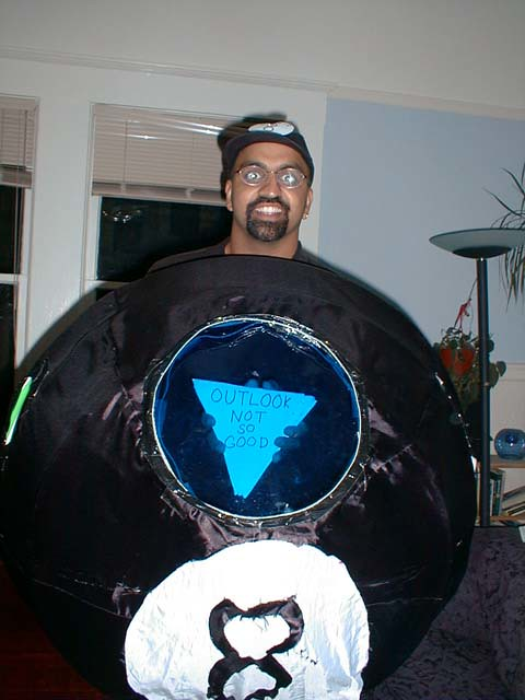 magic eight ball costume jakejacobsen flickr - Magic 8 Ball Halloween Costume