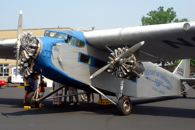 Ford Trimotor Capital City Pa On A Recent Road Show