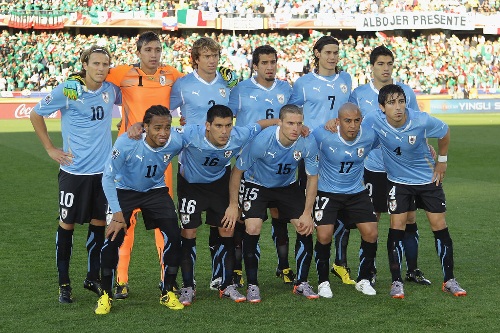 Seleccion Uruguaya | RUSTENBURG, SOUTH AFRICA - JUNE 22 ...