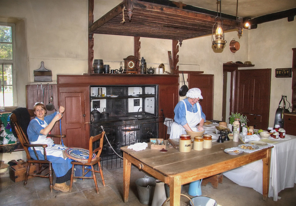 Farmhouse Kitchen Victorian Farmhouse Kitchen At The
