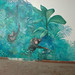 Mural, Jungle with Monkeys