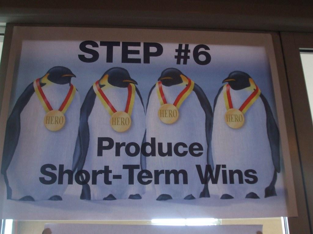 Short Term Wins : Step produce short term wins vivian evans flickr
