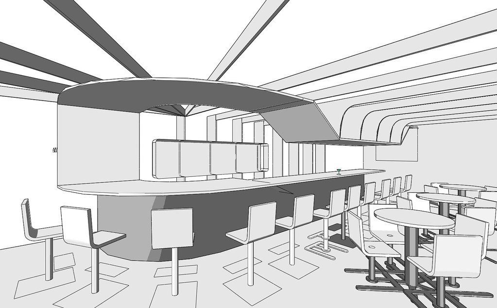 Nxxt restaurant first design sketch this is my