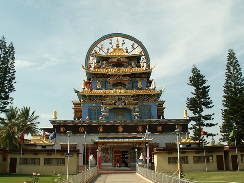 Kushalnagar India  city photo : Golden Temple Bylakuppe KushalNagar Coorg India 1 | Flickr Photo ...