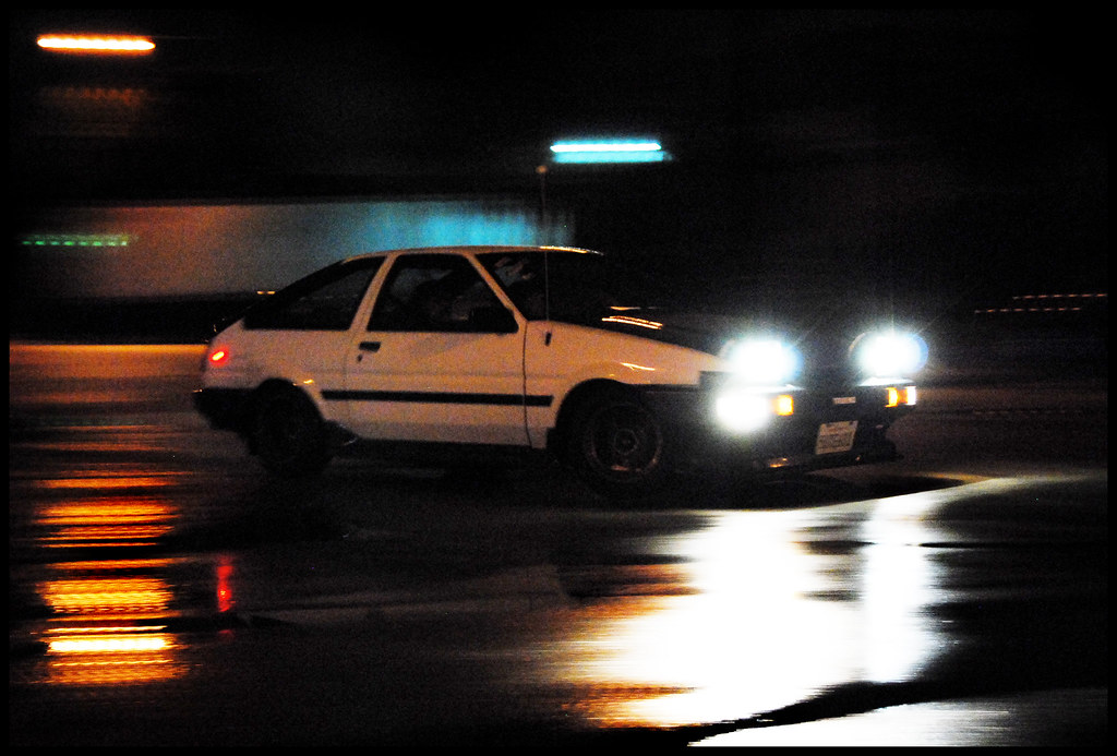Car To Go >> initial D | Initial D looking car was drifting at the T with… | Flickr
