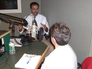 Linda Schwartz & John Dankosky, July 26, 2007. | by WNPR - Connecticut Public Radio