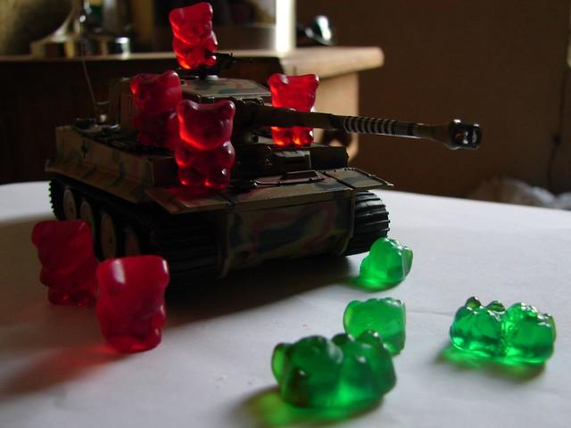 War Bears Gummy Bears at War | by