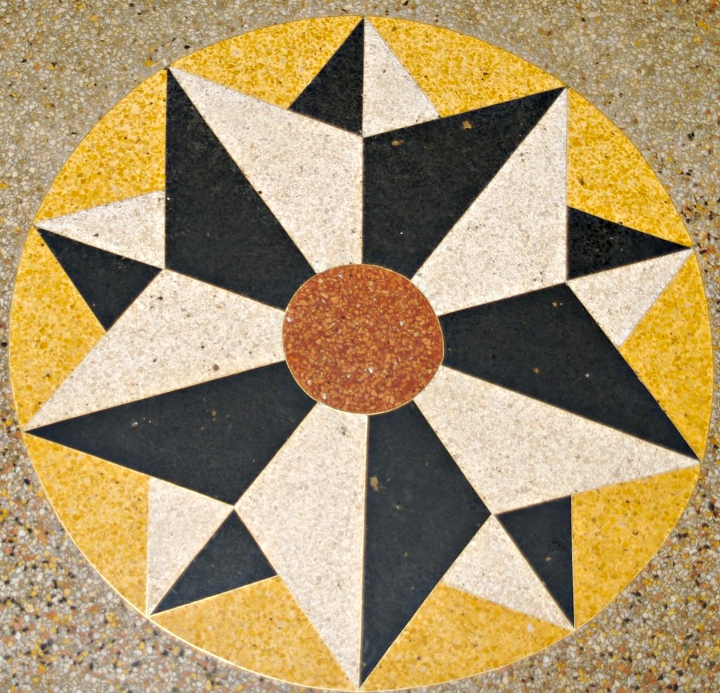 Lion D Or Terrazzo Floor Sandra Cohen Rose And Colin Rose Flickr