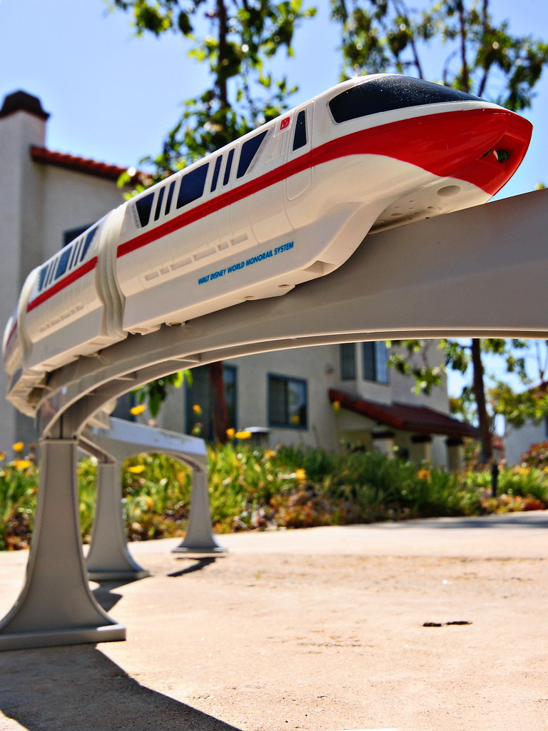 Coolest Toy In The World : Walt disney world monorail toy coolest ever goes