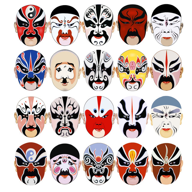 6 Different Types of Chinese Masks