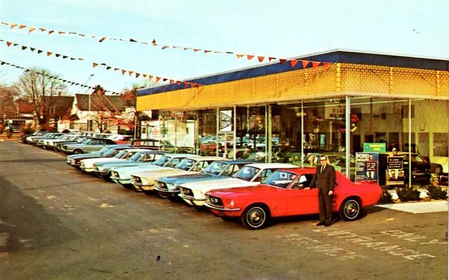 My Mountaineer Card >> Owen Ford Sales Inc., Vineland, NJ, 1967 | Flickr - Photo ...