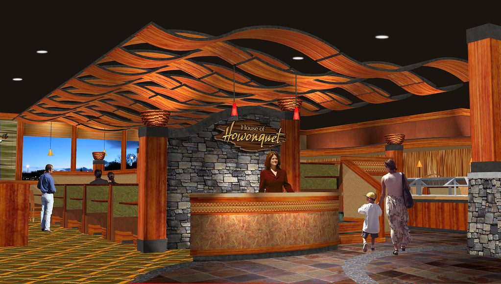Casino restaurant design decor lodge