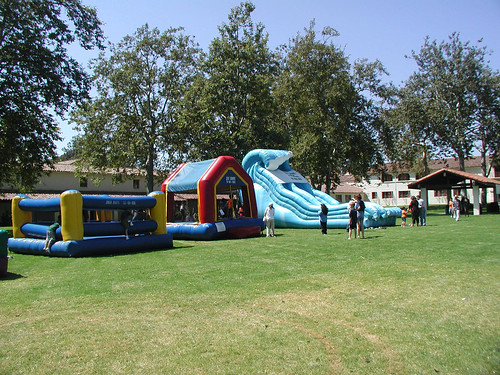 Welcome Back BBQ 2002: Bounce Houses | by California State University Channel Islands