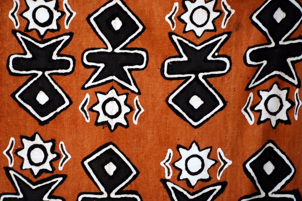 Cloth with african pattern | Markus Reinhardt | Flickr