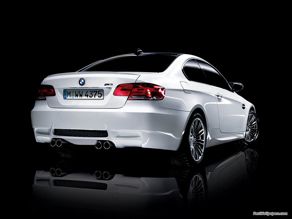 2008 Bmw E92 M3 Coupe Wallpaper 2008 Bmw E92 M3 From