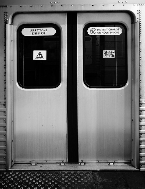 Subway Doors | by wirem3sh Subway Doors | by wirem3sh & Subway Doors | Lower Bay TTC subway station Ghost Station Nu\u2026 | Flickr