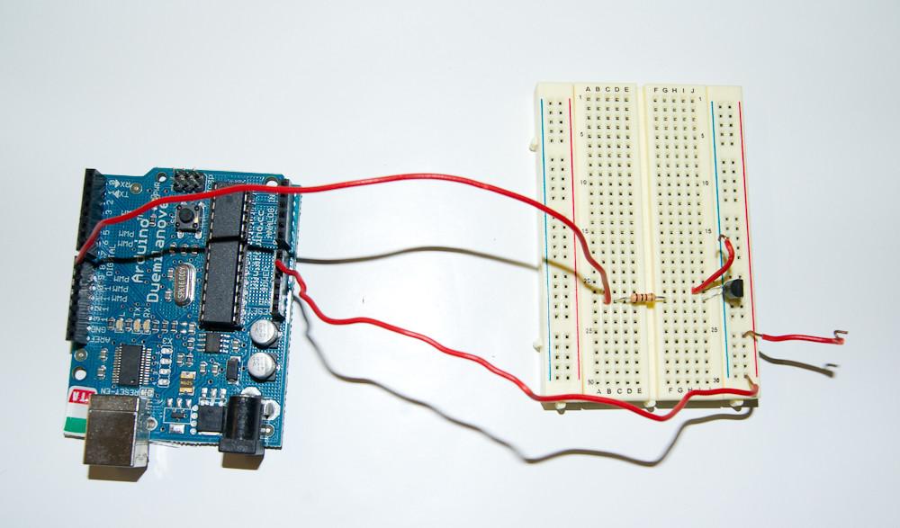 Arduino for triggering a camera image taken