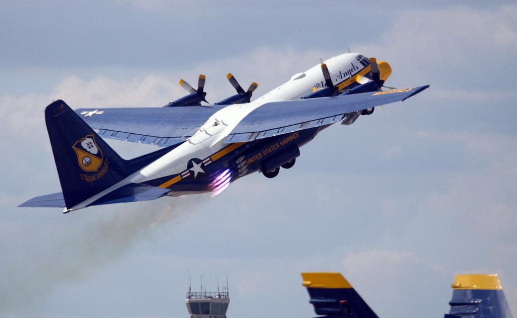 c-130 hercules  u0026quot fat albert u0026quot  jato launch