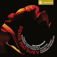 Rachmaninov's Piano Concerto No. 3 and Rhapsody on a Theme of Paganini on the Mariinsky Label (SACD)
