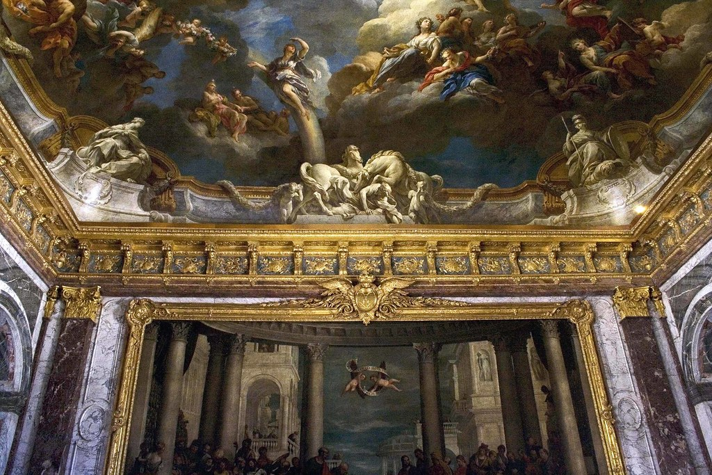 ... Palace of Versailles | Ceiling and wall paintings & d… | Flickr
