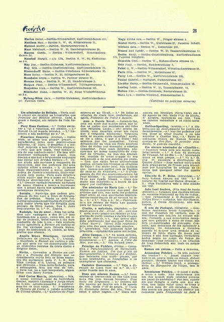 Cinéfilo, No. 73, January 11 1930 - 26