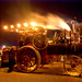DSC00466 - burning man 2007 - Kinetic Steam Works' Case traction engine Hortense at night