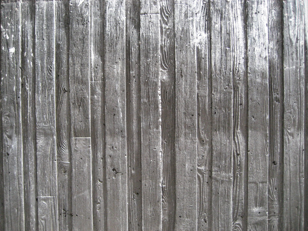 Stamped Board Form Concrete Dru Flickr