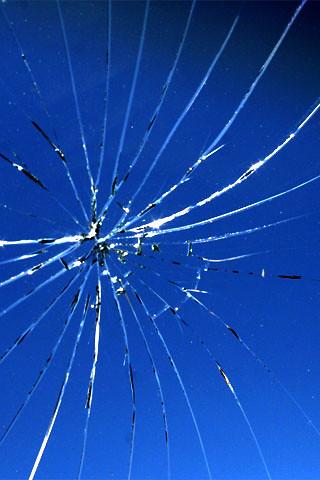 shattered screen wallpaper