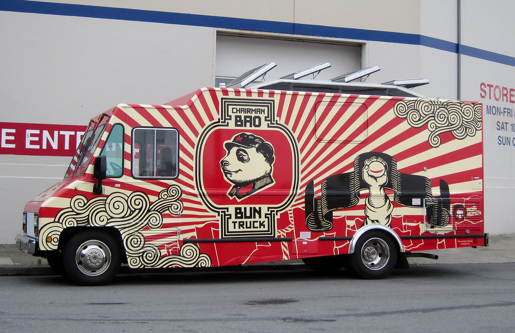chairman bao bun truck photo by scott beale laughing squ flickr. Black Bedroom Furniture Sets. Home Design Ideas