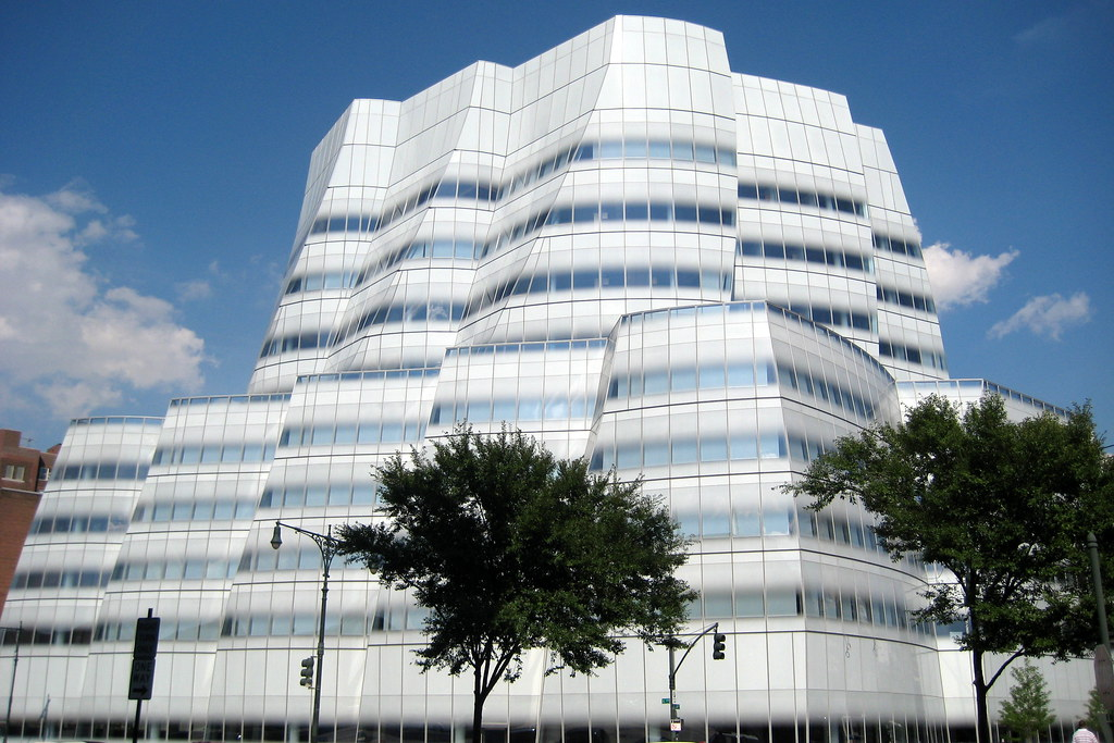 Nyc Chelsea Iac Interactivecorp Headquarters The Iac