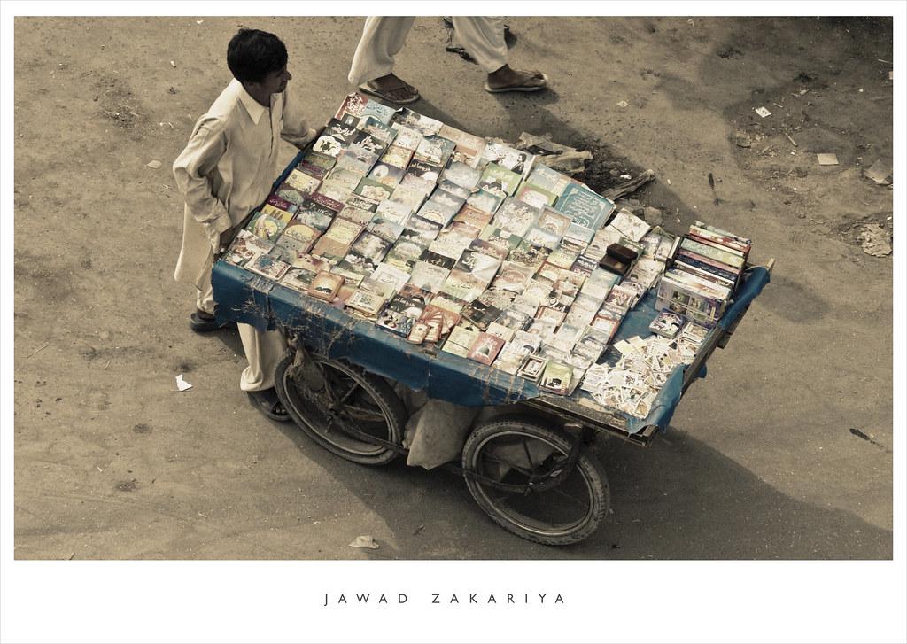 Ali Maula Qasida: A Man Selling Books In Old Lahore