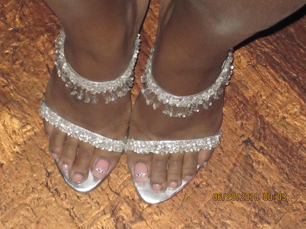 Ebony feet lovers
