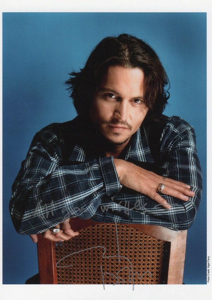 Johnny Depp | Sent 7/18/08- rec. 8/10-8/19 Real autograph ... - photo#48