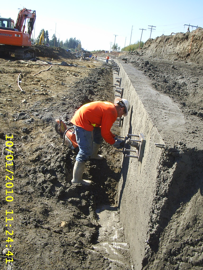 Soil nail wall the soil nail wall with shotcrete face for Soil nail wall
