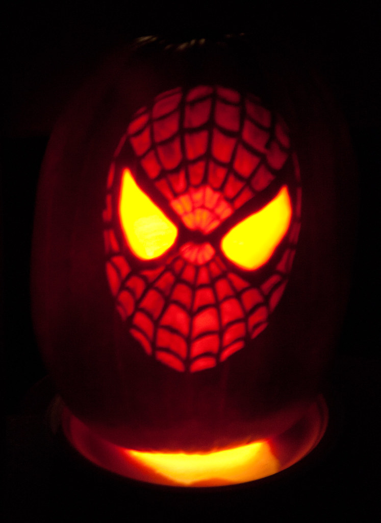 Spiderman Pumpkin   Gone-Walkabout   Flickr