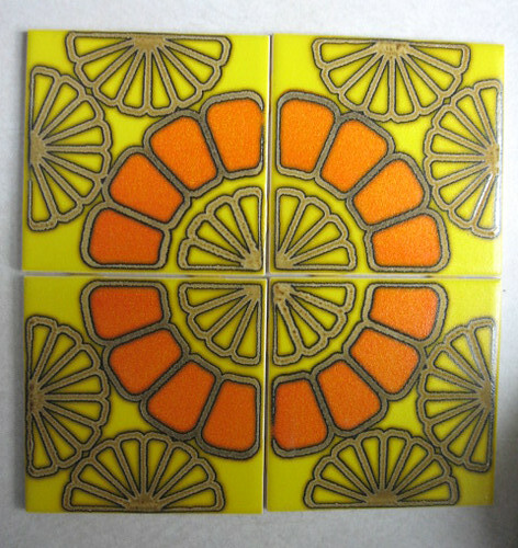 70's tiles   I found a unopened box of these tiles in my
